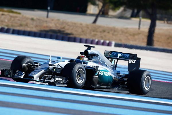 F1 2016 PAUL RICARD - Test pneumatiques PIRELLI 2017 avec l'équipe MERCEDES et Pascal WEHRLEIN le 8 Septembre -