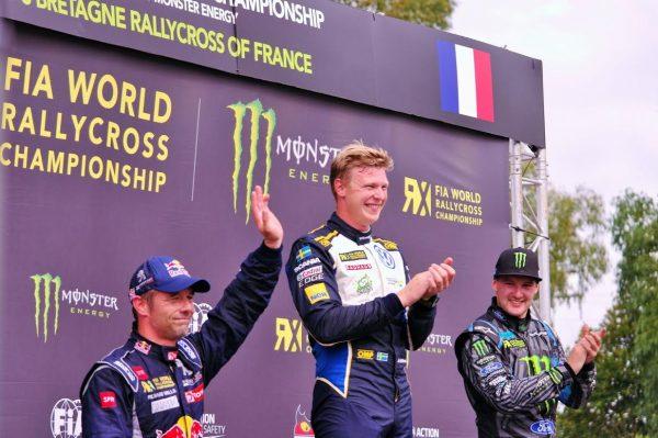 LOHEAC RX 2016- podium supercar- photo Florian GAUDUCHEAU.