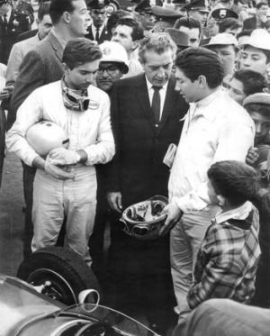 RICARDO et PEDRO RODRIGUEZ. aux 24 Heures du MANS e,1961