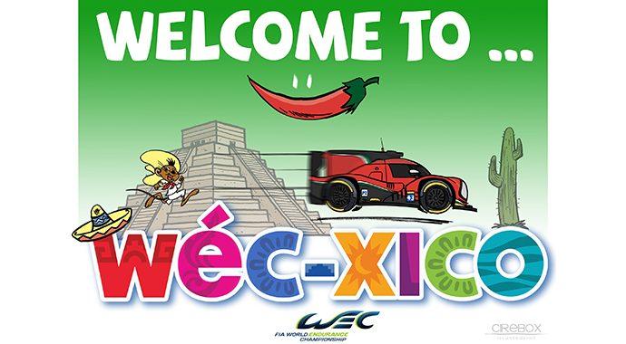WEC 2016  MEXICO AFFICHE