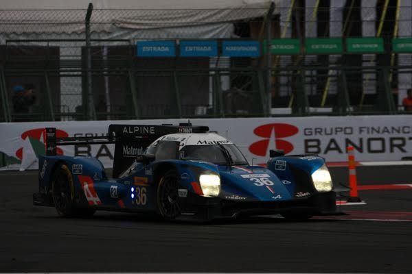WEC 2016 MEXICO ALPINE A460 N°36 Photo Gérardo ISOARD