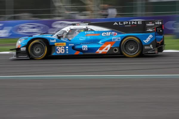 WEC 2016 MEXICO -ALPINE A460 N°36 - Photo Gérardo ISOARD.