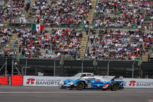 WEC 2016 MEXICO - ALPINE N°35 - Photo Gérardo ISOARD.