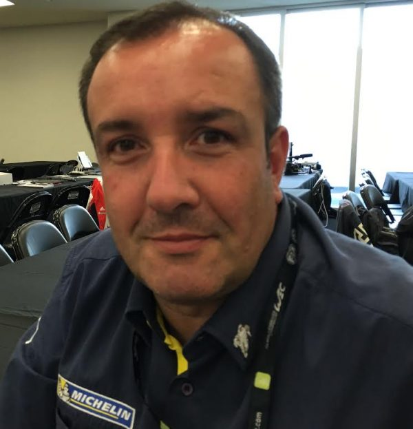 WEC 2016 MEXICO - Bruno MONDAIN Responsable du département endurance chez MICHELIN - Photo Roamhy HERAS MACHOIR.