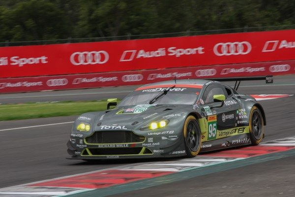 WEC 2016 MEXICO - L'ASTON MAZRTIN N°95 Photo Gérardo ISOARD