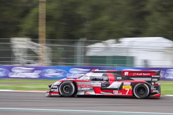 WEC 20216 MEXICO - l' AUDI R18 N °7 - Photo Gerardo ISOARD.j