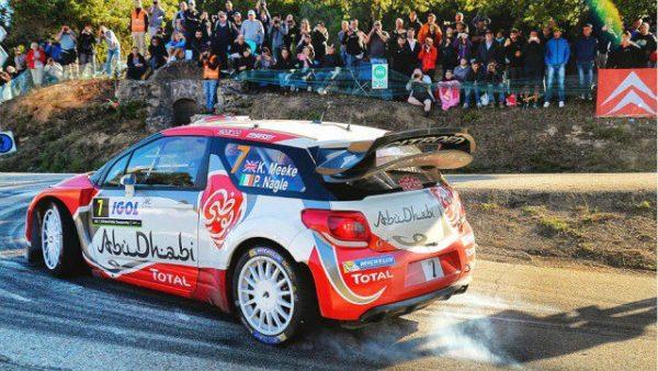 WRC 2016 TOUR DE CORSE - La DS3 de Kris MEEKE