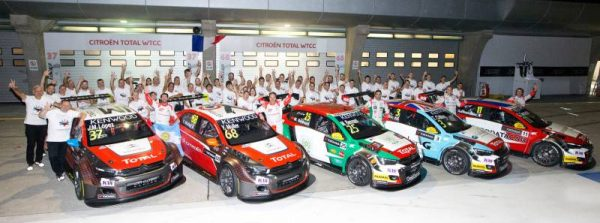 WTCC-2016-SHANGHAI-Le-Team-CITROEN-avec-CITROEN-Racing-et-les-C-ELYSEE-du-SEB-LOEB-Racing