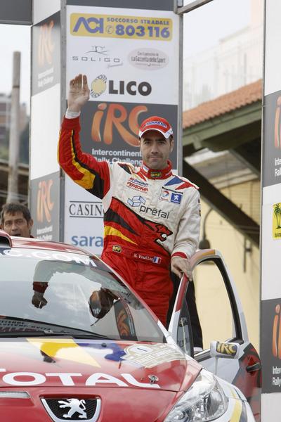 Championnat d'Europe IRC -Nicolas VOUILLOZ