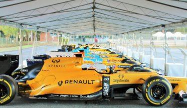 AUTOBROCANTE DE LOHEAC 2016 - 40 ANS de F1 RENAULT