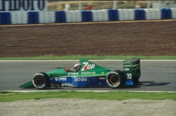 Alex-ZANARDI-GP-Espagne-1991-Jordan-191-©-Manfred-GIET