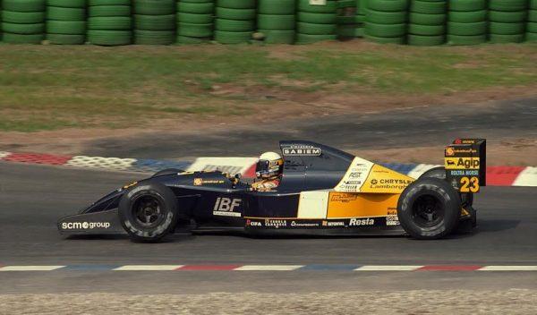 Alex-ZANARDI-Hockenheim-1992-sur-la-Minardi-©-Manfred-GIET