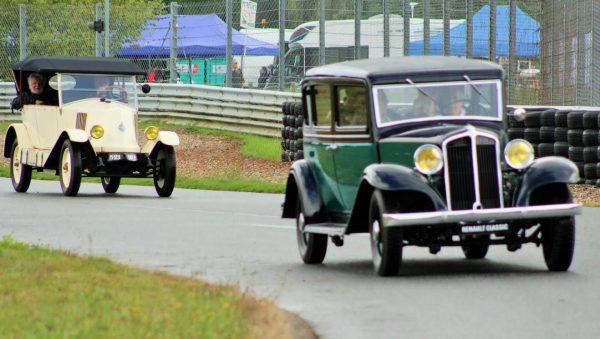 Autobrocante Lohéac 2016 - Michel LECLERE et Alain SEPAGGI font la course en anciennes - Photo Emmanuel LEROUX