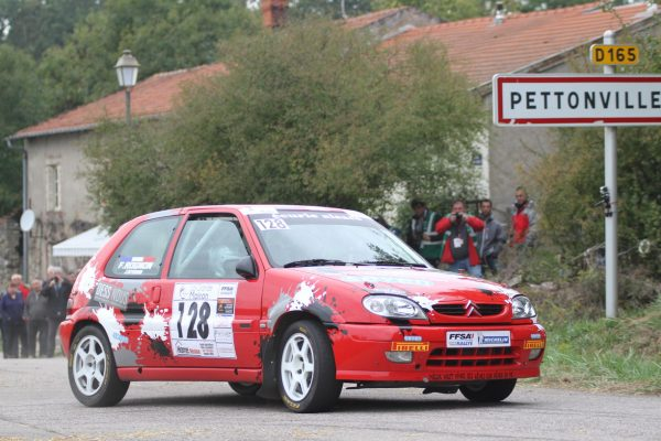 COUPE DE FRANCE DES RALLYES Finale a LUNEVILLE 14 OCTOBRE- LANTHERMANN -Photo Eric PETITDIDIER