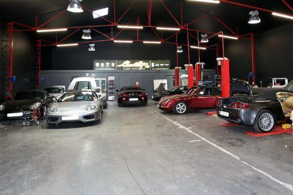 Chantilly Cars Prestige - L'Atelier de préparation et entretien - Photo BERNARD BAKALIAN.