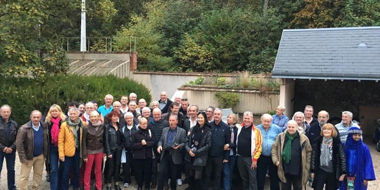 DAKAR D'ANTAN 29 Octobre 2016 Reunion en Sologne des DAKARIENS Henri PESCAROLO et Diane SABINE THIERRY MIEG