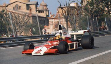 F1-1975-GP-DESPAGNE-sur-le-circuit-de-MONTJUIC-à-BARCELONE-1ére-victoire-en-GP-de-lAllemand-JOCHEN-MASS-le-27-avril-sur-McLAREN-FORD-COSWORTH