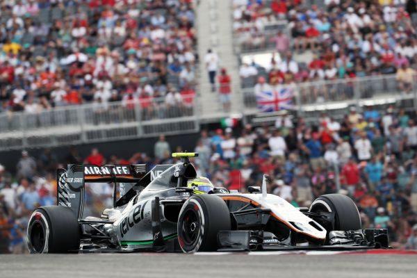 F1-2016-AUSTIN-La-ORCE-INDIA-MERCEDES-de-SERGIO-PEREZ