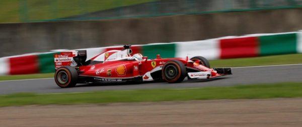 F1 2016 GP du JAPON La FERRARI de Seb VETTEL.