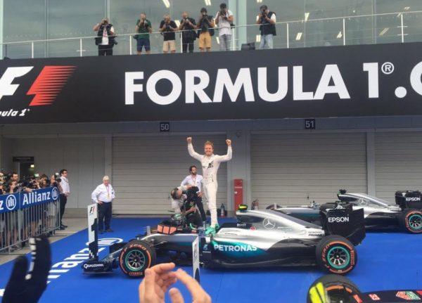 F1 2016 GP du JAPON Victoire dimanche 9 Octobre de NICO ROSBERG.