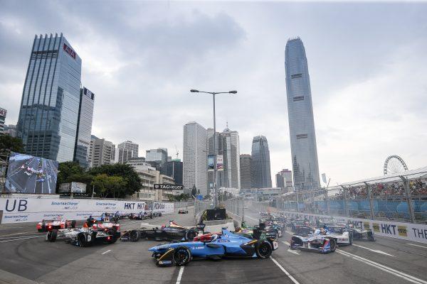 FORMULA E 2016 HONG KONG -Aprés le départ dimanche 9 Septembre