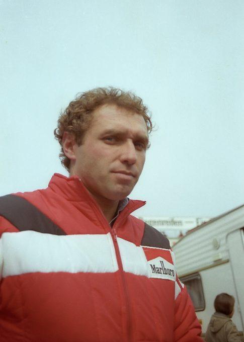 Jochen MASS à son débuts en F-1-© Manfred GIET