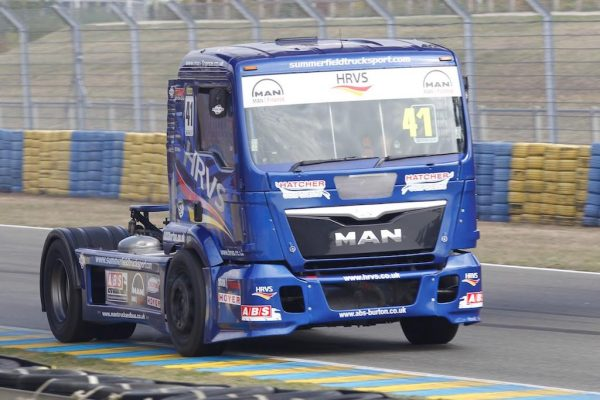 LE MANS 24 H Camions 2016 - COUPE de FRANCE- MATTEW SUMERFIELD - Photo Thierry COULIBALY.