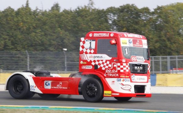 LE MANS 24 H Camions 2016 Coupe de France -Thomas ROBINEAU - Camion MAN - Photo Thierry COULIBALY.