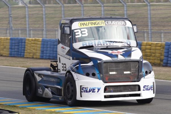 LE MANS 24 H Camions 2016 pilote Olivier JANES FREIGHTLINER BUGGYRA- Photo Thierry COULIBALY