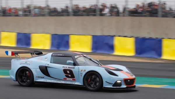LOTUS CUP 2016 LE MANS -Xavier GEORGES LOTUS EXIGE Photo Thierry COULIBALY