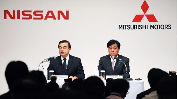 NISSAN-MITSUBISHI-Le-PDG-de-REBNAULT-NISSAN-Carlos-GHOSN-et-celui-de-MITUSBISHI-Osamu
