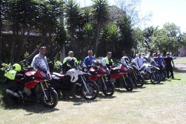 PANAMERICANA 2016 Autre particularité cette année, la présence de concurrents motos.