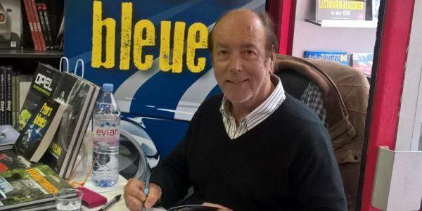 PEURS BLEUES - L'auteur, Le journaliste romancier PATRICE VERGES