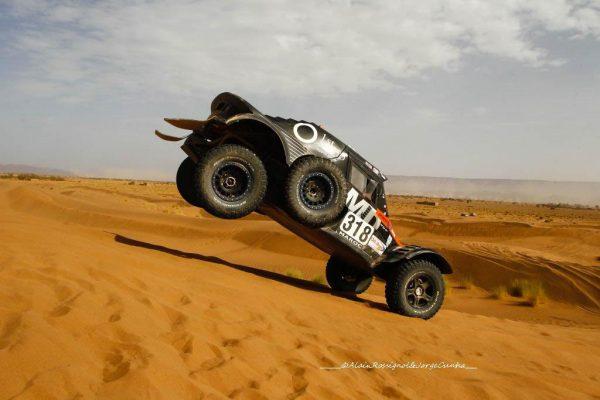 RALLYE OILYBIA du MAROC 2016 - QUEL spevtacle les passages de dunes.