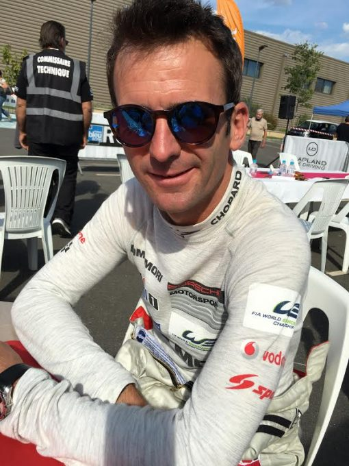 TOUR DE CORSE HISTORIQUE 2016 -Entretien avec Romain DUMAS ce samedi 8 Octobre a GHISONACCIA -Photo Autonewsinfo.