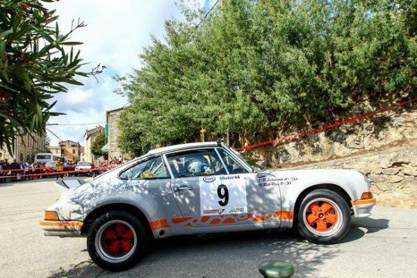 TOUR de CORSE HISTORIQUE 2016- 911 Carrera RS de Jean Pierre LAJOURNADE et Martine RICK PLACE