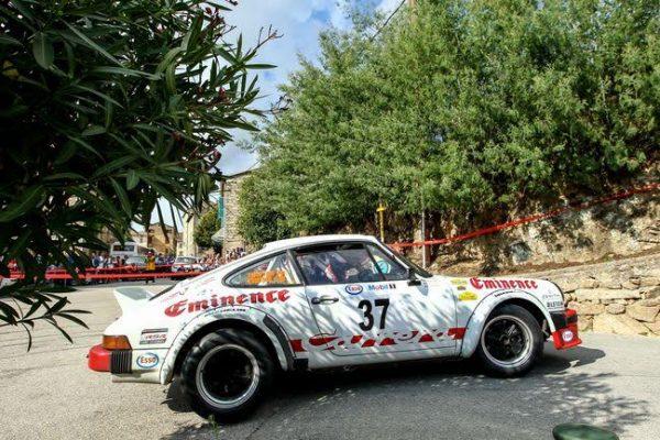 TOUR de CORSE HISTORIQUE 2016- 911 SC de Jean Marc THOME et Philippe TRIPIER.