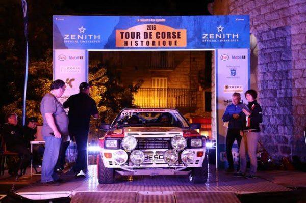 TOUR de CORSE HISTORIQUE 2016- AUDI Coupé Quattro de BENOIT et Yannick MARTIN.