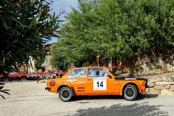 TOUR de CORSE HISTORIQUE 2016- La BMW 323i de Yves MIRAND et Paul SALINI.