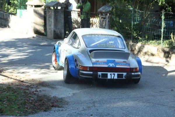 TOUR de CORSE HISTORIQUE 2016- La PORSCHE 911 SC de Franz LEANDRI et Thierry GORGIULO