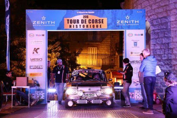 TOUR de CORSE HISTORIQUE 2016- NSU 1200 TT de Jean GREILICH et Arnaud MARTIN.