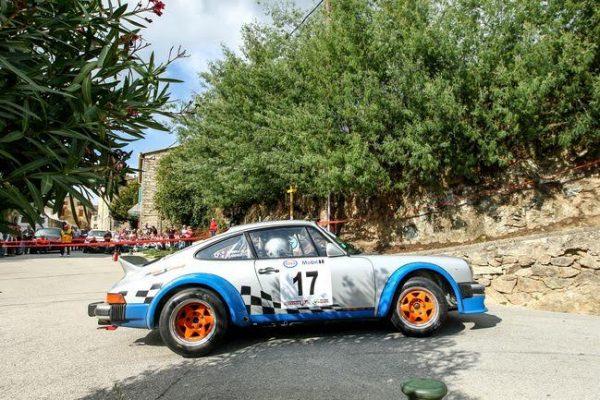 TOUR de CORSE HISTORIQUE 2016- PORSCHE 911 SC de Franz LEANDRI et Thierry GORGUILO