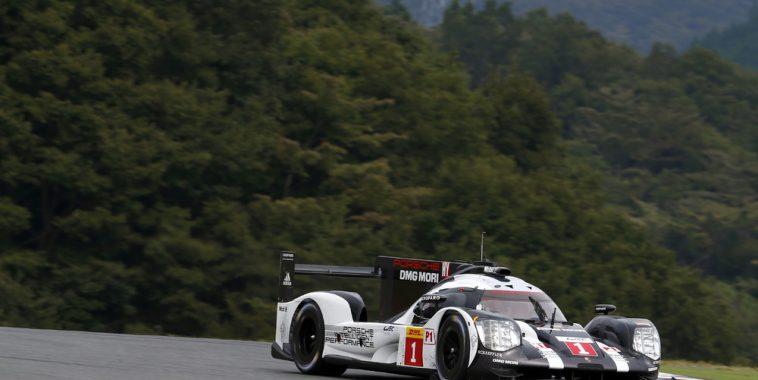 WEC 2016 FUJI - Porsche 919 Hybrid, Porsche Team de Timo Bernhard, Brendon Hartley, Mark Webber