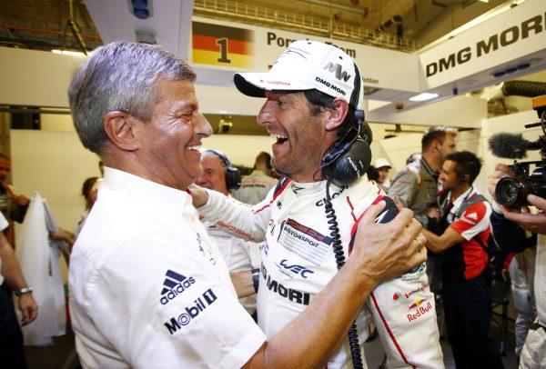 WEC-2016-Fritz-ENZINGER-Vice-President-LMP1-Porsche-Team-et-Mark-WEBBER.