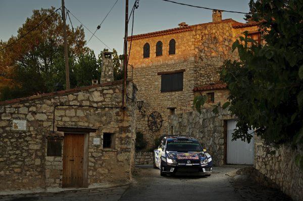 WRC 2016 CATALOGNE - La VW POLO WRC d'ANDREAS MIKKELSEN et ANDERS JAEGER