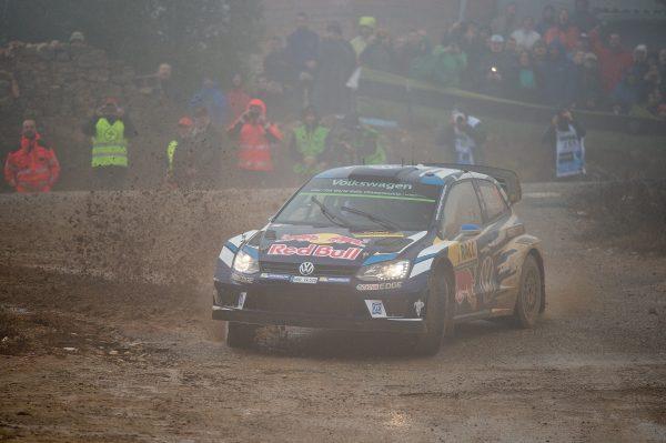 Sébastien Ogier (F), Julien Ingrassia (F) Volkswagen Polo R WRC (2016) WRC Rally Catalunya 2016 Photo: Renata Giorgi