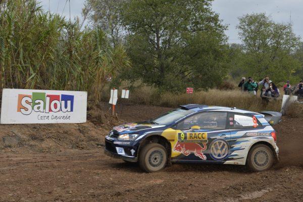 WRC 2016 -CATALOGNE - La VW POLO d'Andreas MIKKELSEN et Andrrs JAEGER lors du SHAKEDOWN ce jeudi 13 octobre - Photo VW.