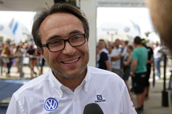 WRC 2016 - CATALOGNE - Sven SMEETS le Patron de l'équipe VOLKSWAGEN Motorsport.