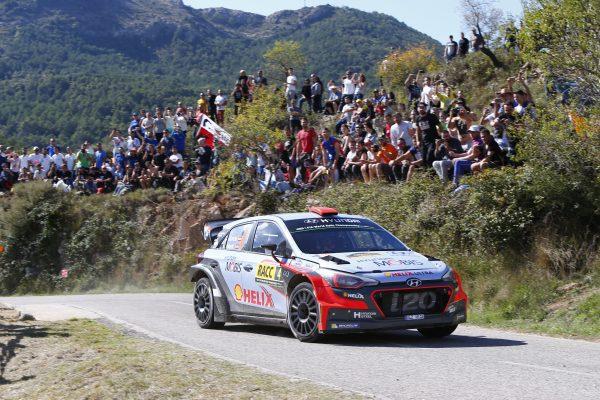 WRC 2016 CATALOGNE - Team HYUNDAI DANI SORDO