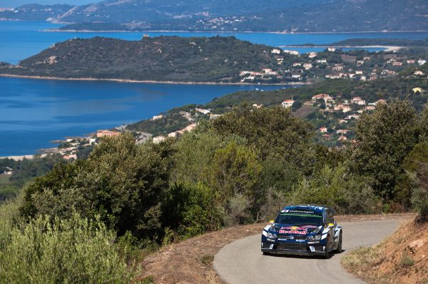 Andreas Mikkelsen (NOR), Anders Jæger (NOR) Volkswagen Polo R WRC (2016) WRC Rally France - Corsica 2016 Photo: Helena El Mokni